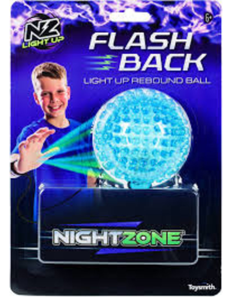 TOYSMITH FLASH-BACK REBOUND BALL