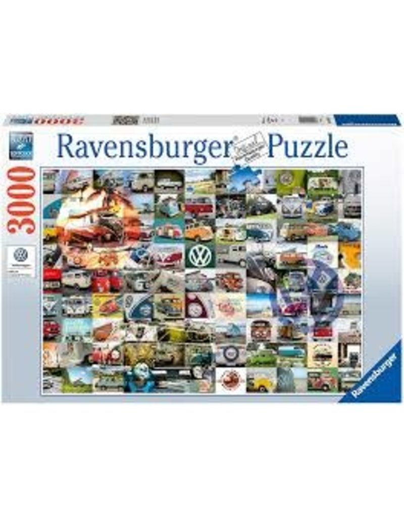 RAVENSBURGER 99 VW Camper Van Moments 3000pc