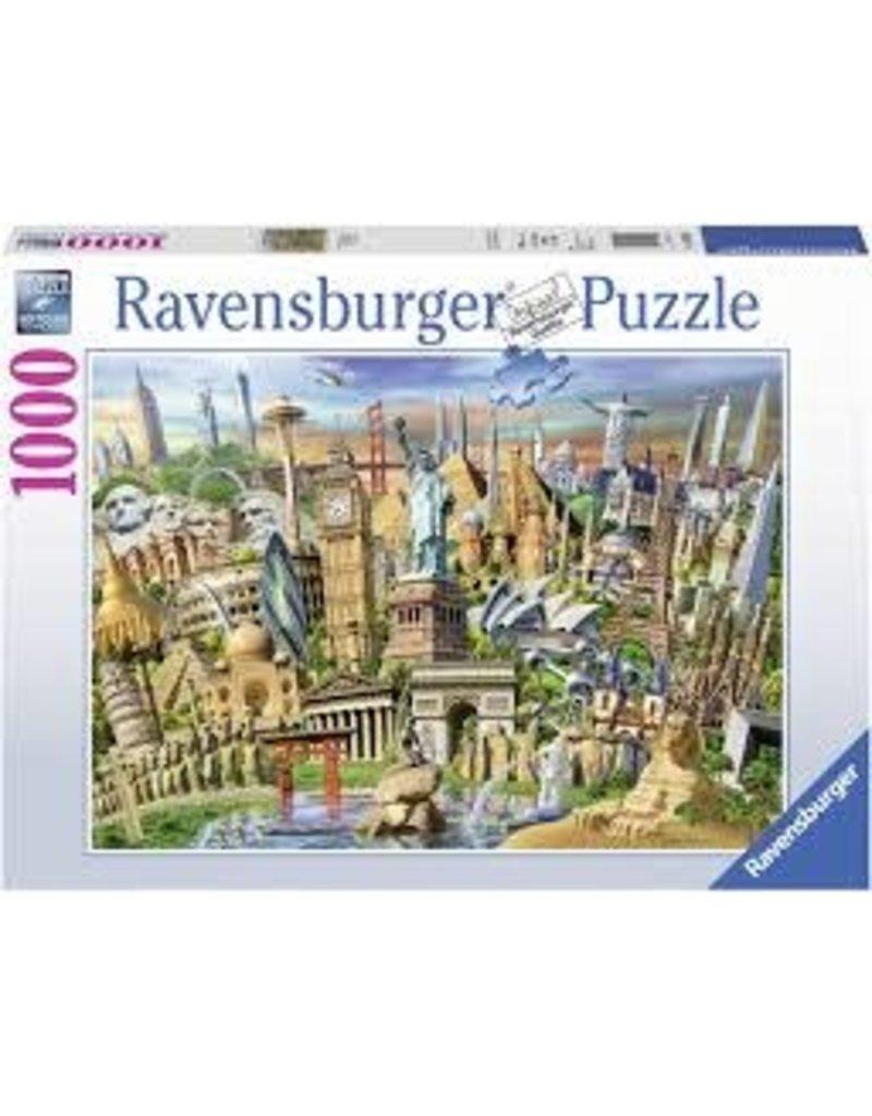 RAVENSBURGER World Landmarks 1000pc