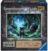RAVENSBURGER THE CURSE OF THE WOLVES ESCAPE 750PC