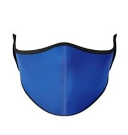 TOP TRENDS NAVY BLUE SOLID FACE MASK 8+