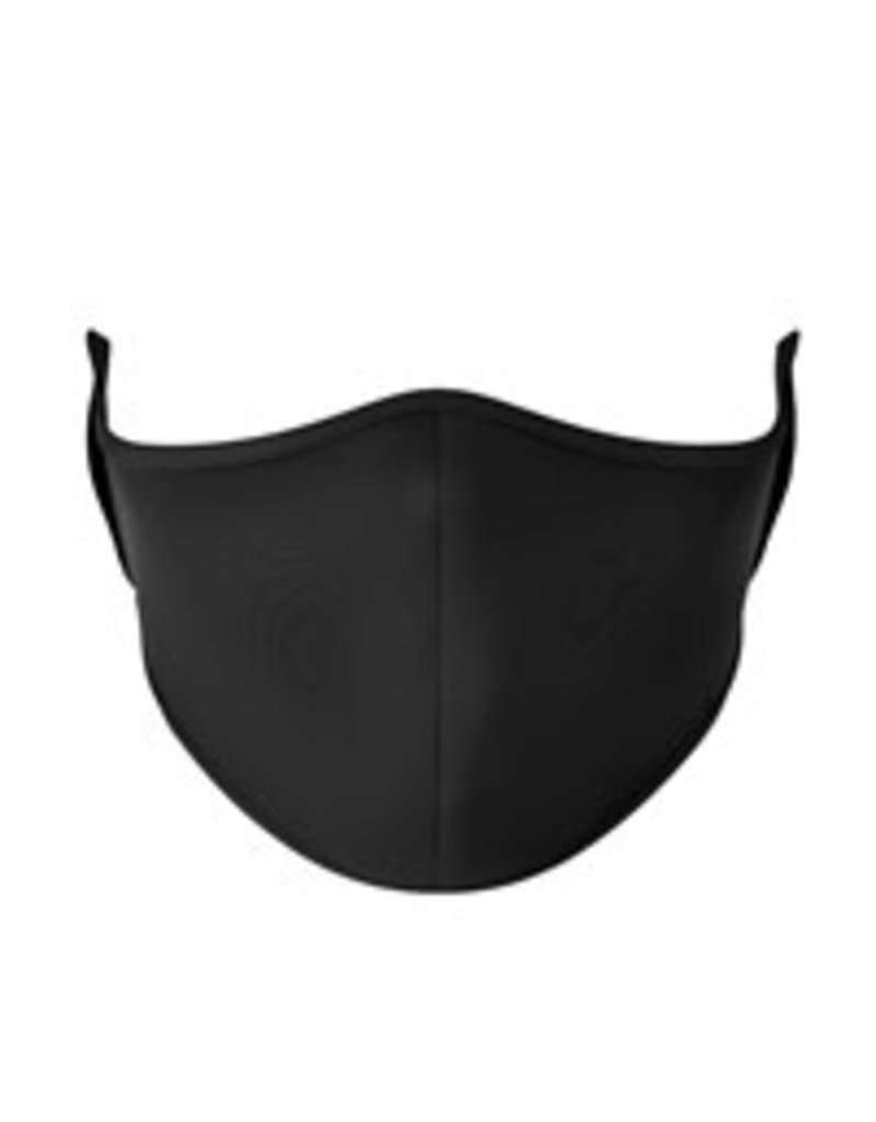 TOP TRENDS SOLID BLACK FACE MASK 3-7