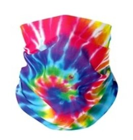 TOP TRENDS RAINBOW TIE DYE GAITER 5-7