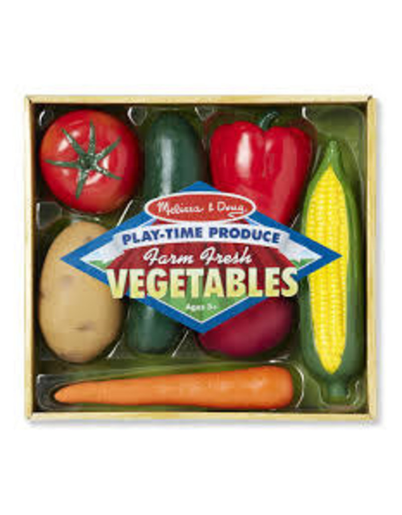 MELISSA & DOUG PLAY TIME VEGETABLES