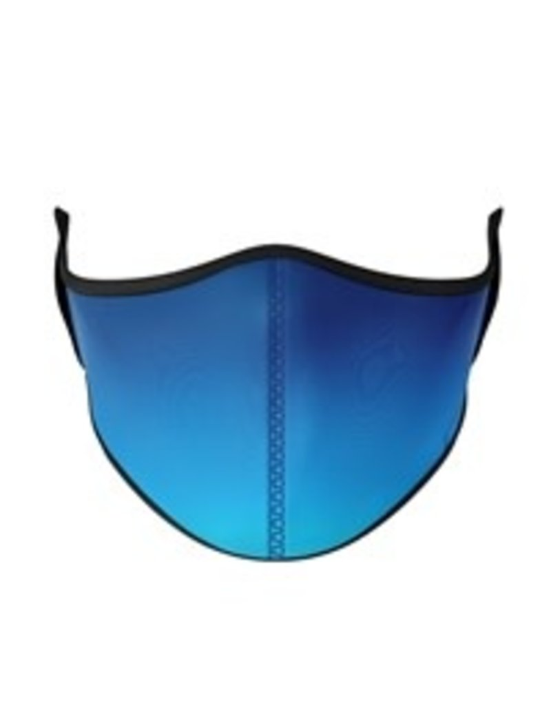 TOP TRENDS BLUE OMBRE MASK ADULT