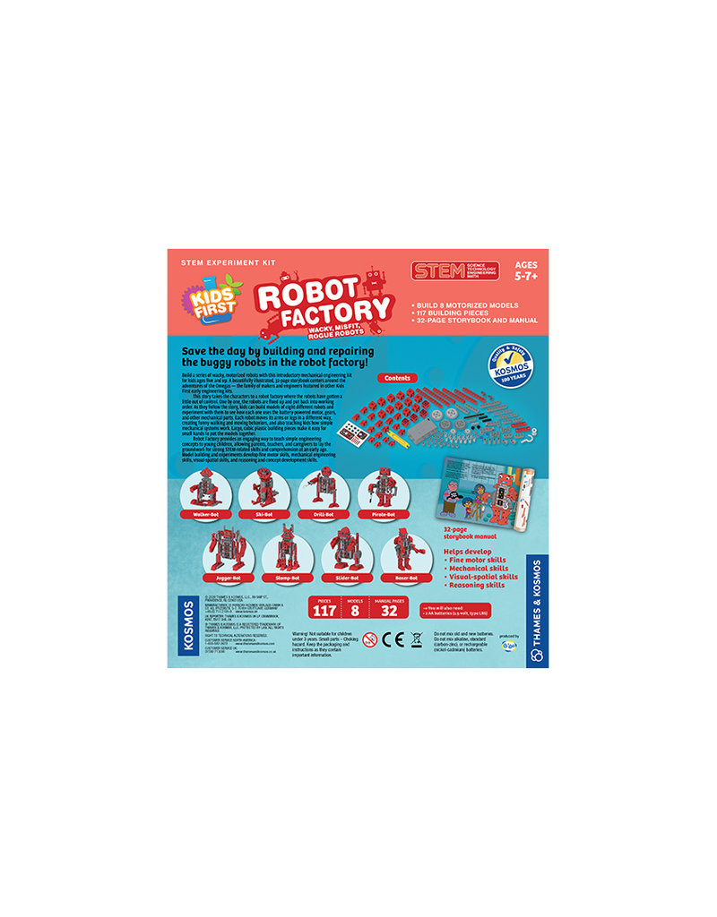 THAMES & KOSMOS ROBOT FACTORY