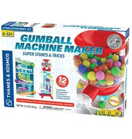 THAMES & KOSMOS Gumball Machine Maker - Super Stunts and Tricks