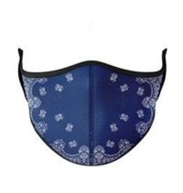 TOP TRENDS BLUE BANDANA 3-7