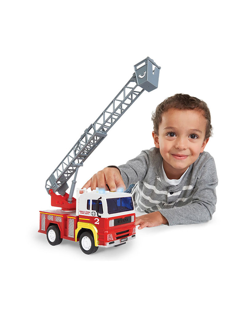 KID GALAXY FRICTION FIRE TRUCK