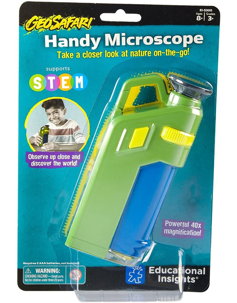 LEARNING RESOURCES HANDY MICROSCOPE