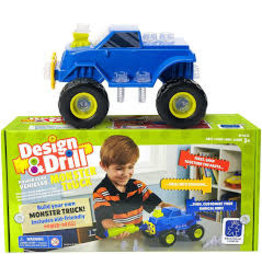 EDUCATIONAL INSIGHTS MONSTER TRUCK DESIGN AND DRILL