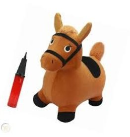 IPLAY ILEARN BROWN HOPPING HORSE