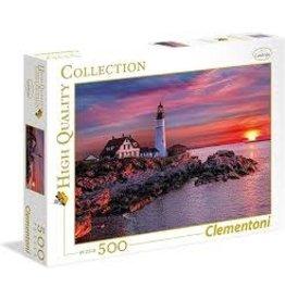 CREATIVE TOY Portland Light Head Lighthouse 500 pc puzzle