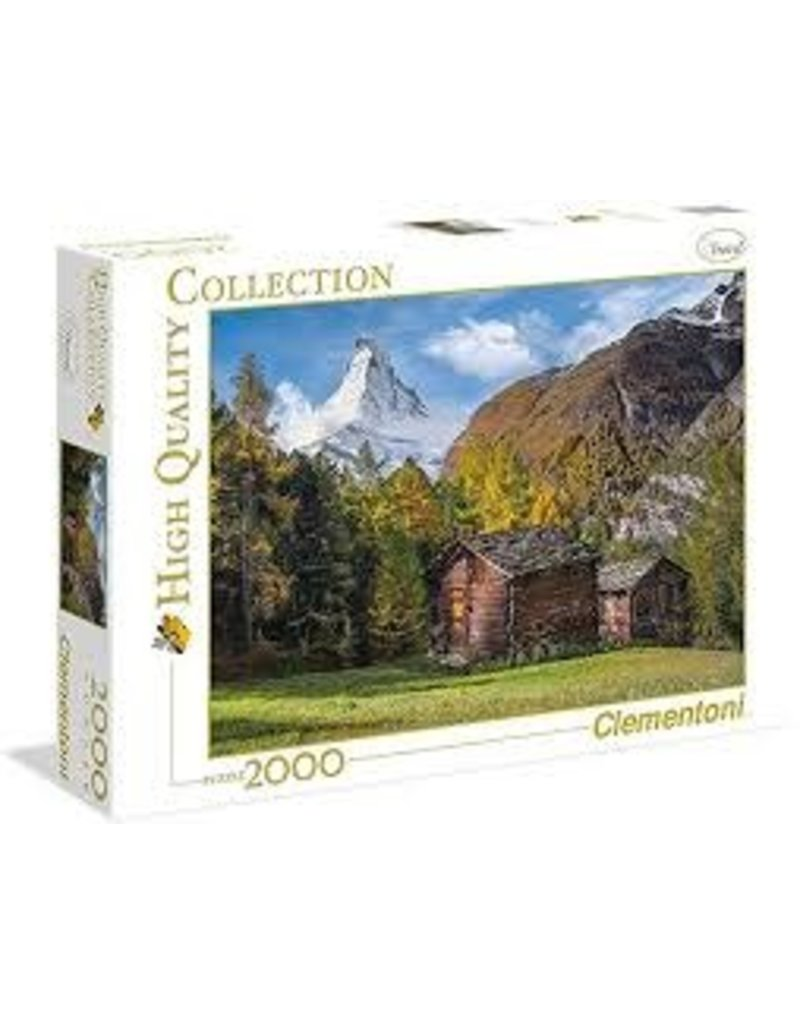 CREATIVE TOY Fascination with Matterhorn - 2000 pc puzzle
