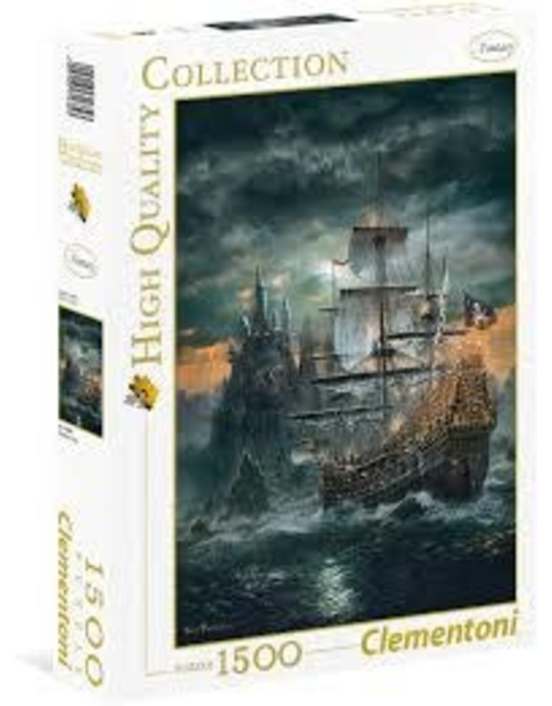 CREATIVE TOY The Pirate Ship, 1500 pc puzzle