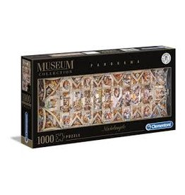 CREATIVE TOY The Sistene Chapel Ceiling, 1000 pc Panorama puzzle