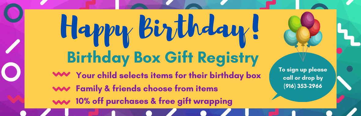 BrainyZoo Toys Birthday Registry