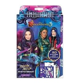 MAKE IT REAL/ 3C4G DESCENDANTS SKETCH BOOK