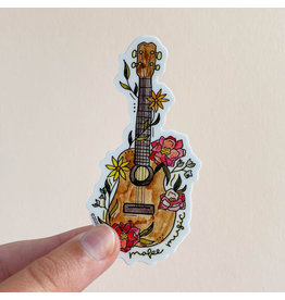 KPB DESIGNS STICKERS UKELELE STICKER