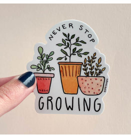 KPB DESIGNS STICKERS GROWING PLANTS STICKER