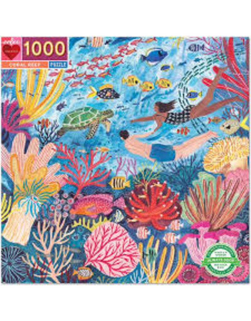 EEBOO Coral Reef 1000 Pc Sq Puzzle