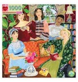 EEBOO Jane Austen's Book Club 1000 Pc Sq Puzzl