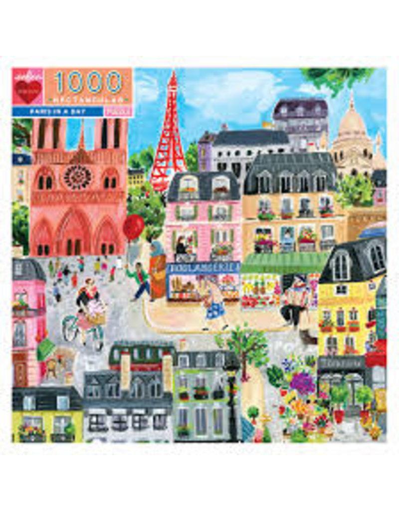 EEBOO Paris in a Day 1000pc Rtg