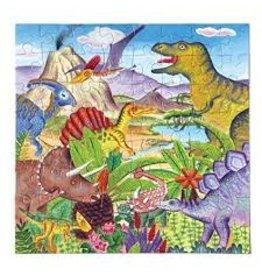 EEBOO Dinosaur Island 64 Pc Puzzle