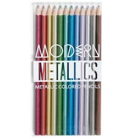 OOLY Modern Metallics Colored Pencils- Set of 12