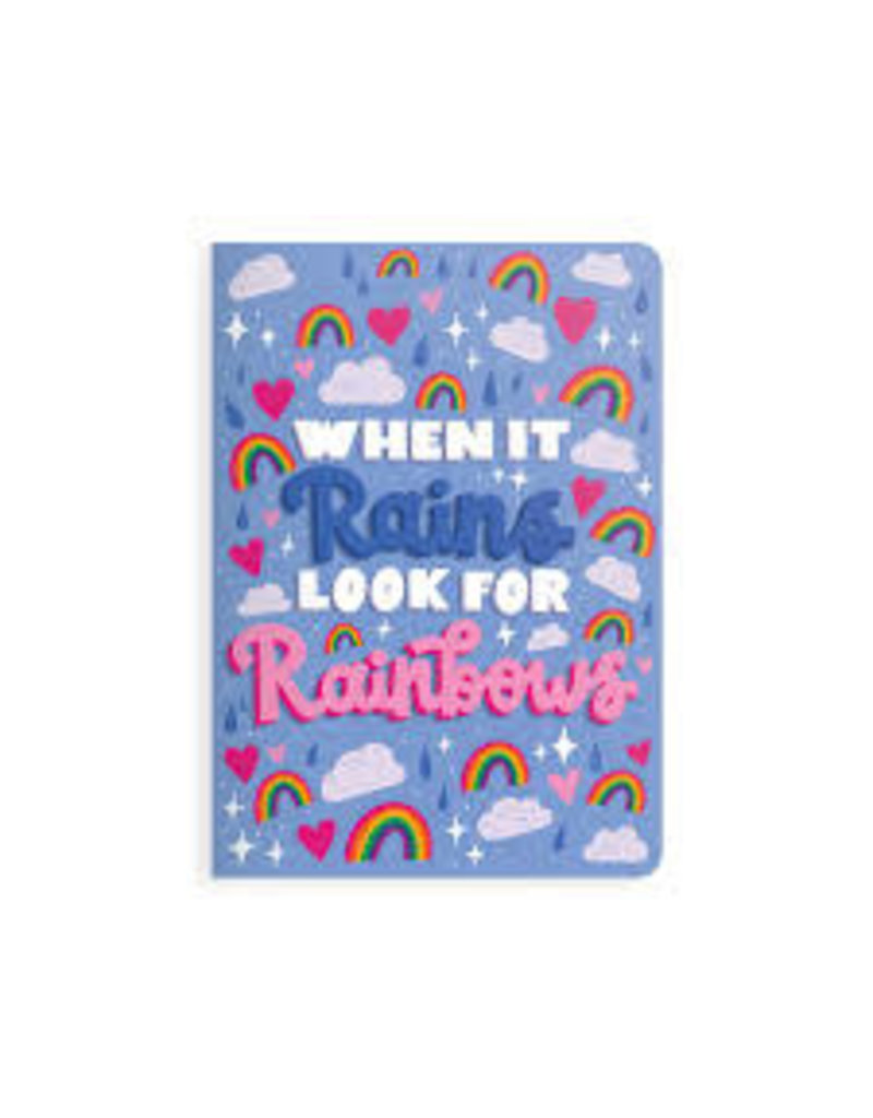 OOLY LOOK FOR RAINBOWS NOTEBOOK