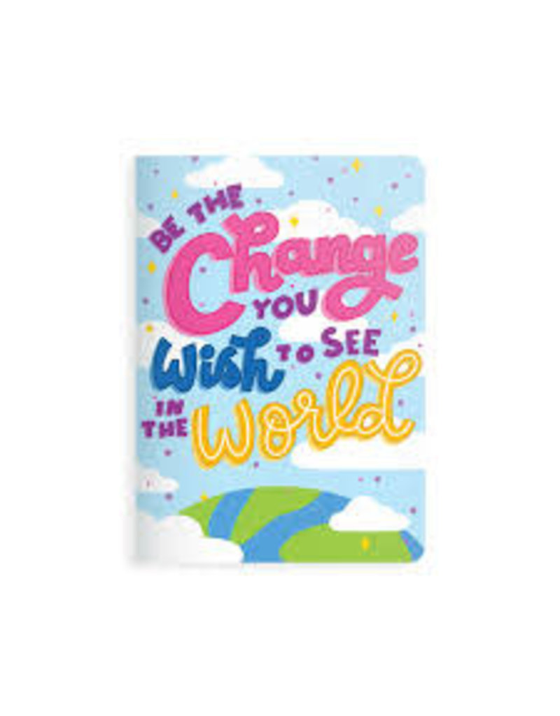 OOLY BE THE CHANGE NOTEBOOK