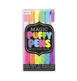 OOLY MAGIC NEON PUFFY PENS