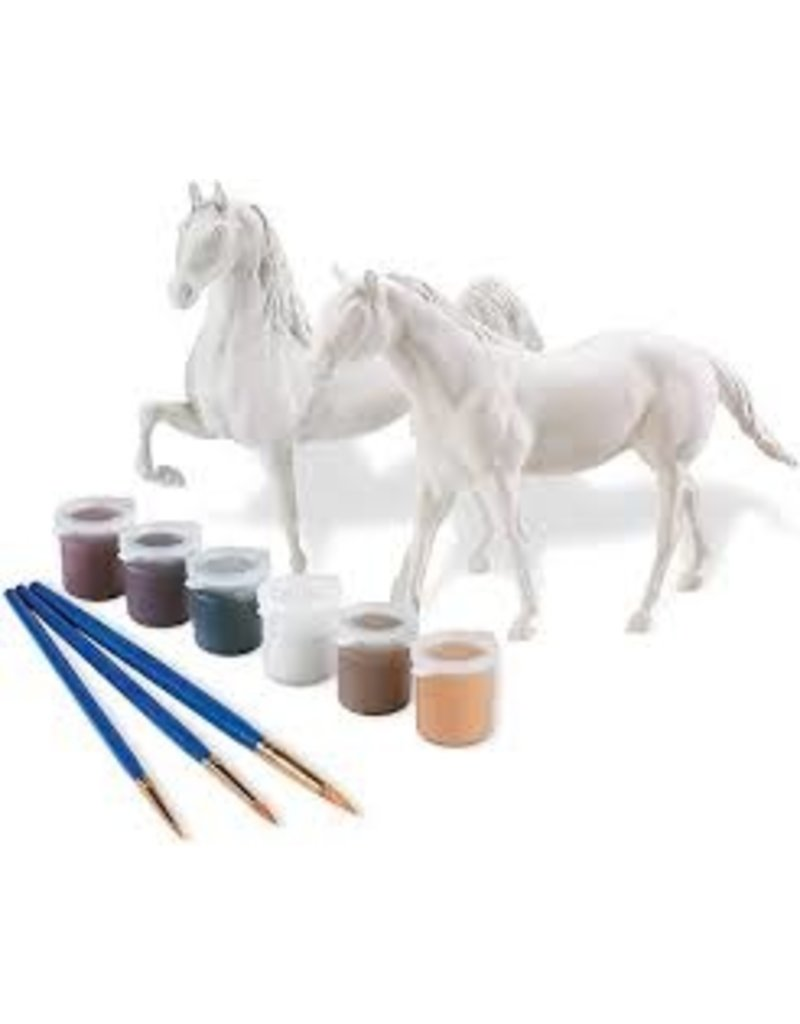 REEVES Paint Your Own Horse - Quarter Horse & Saddlebred