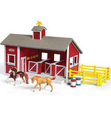 REEVES STABLEMATES RED STABLE SET