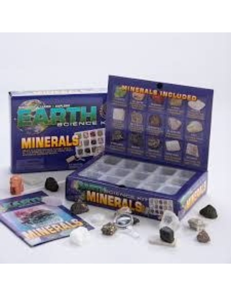 GEOCENTRAL EARTH MINERAL SCIENCE KIT 6/UN
