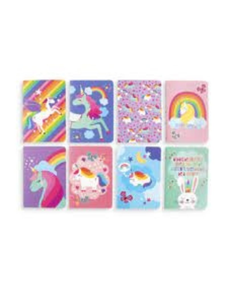 OOLY UNIQUE UNICORN POCKET PAL SET OF 8