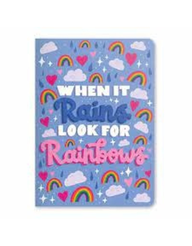 OOLY LOOK FOR THE RAINBOWS NOTEBOOK