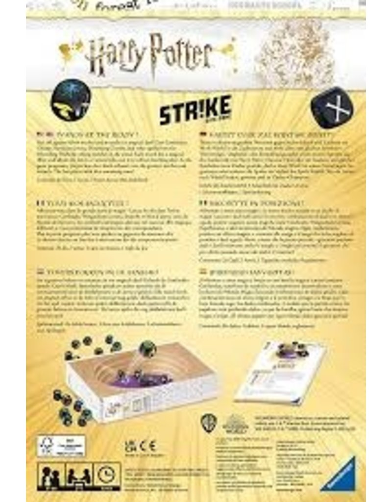 RAVENSBURGER HARRY POTTER STRIKE DICE GAME