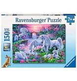 RAVENSBURGER Unicorns in the Sunset Glow 150pc