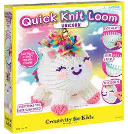 CREATIVITY FOR KIDS QUICK KNIT LOOM UNICORN