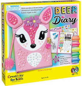 CREATIVITY FOR KIDS DEER DIARY