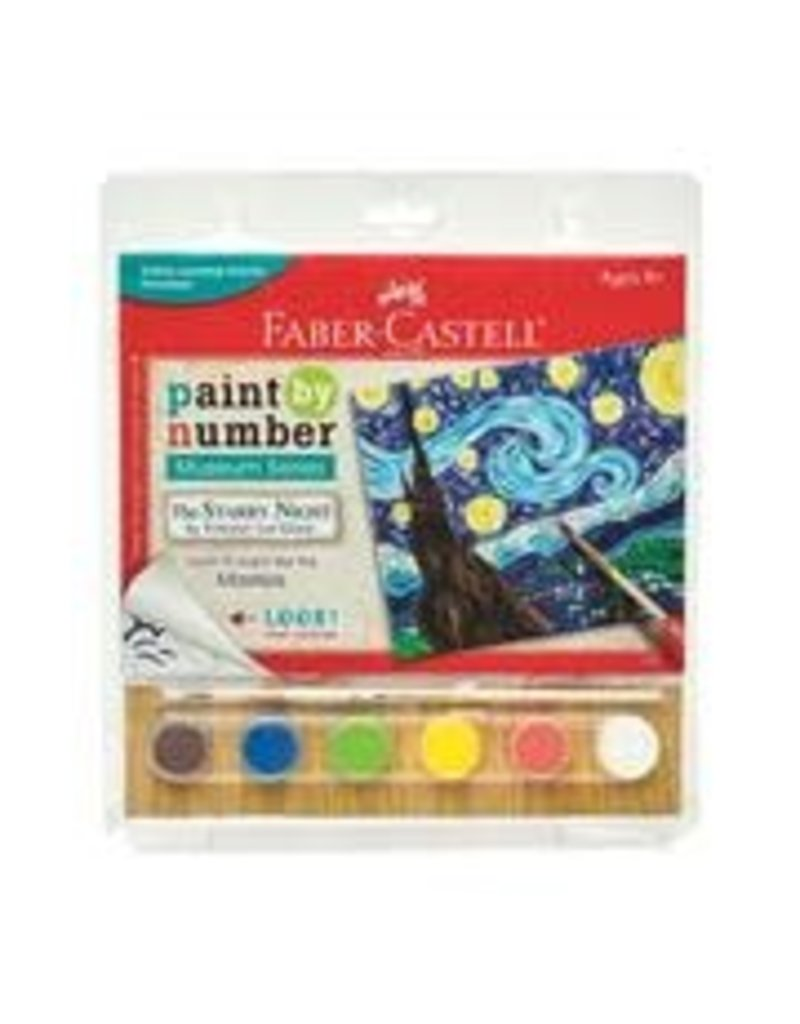 CREATIVITY FOR KIDS The Starry Night Paint By Number Museum Series-