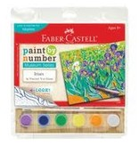 CREATIVITY FOR KIDS IRISES PAINT BY NUMBER