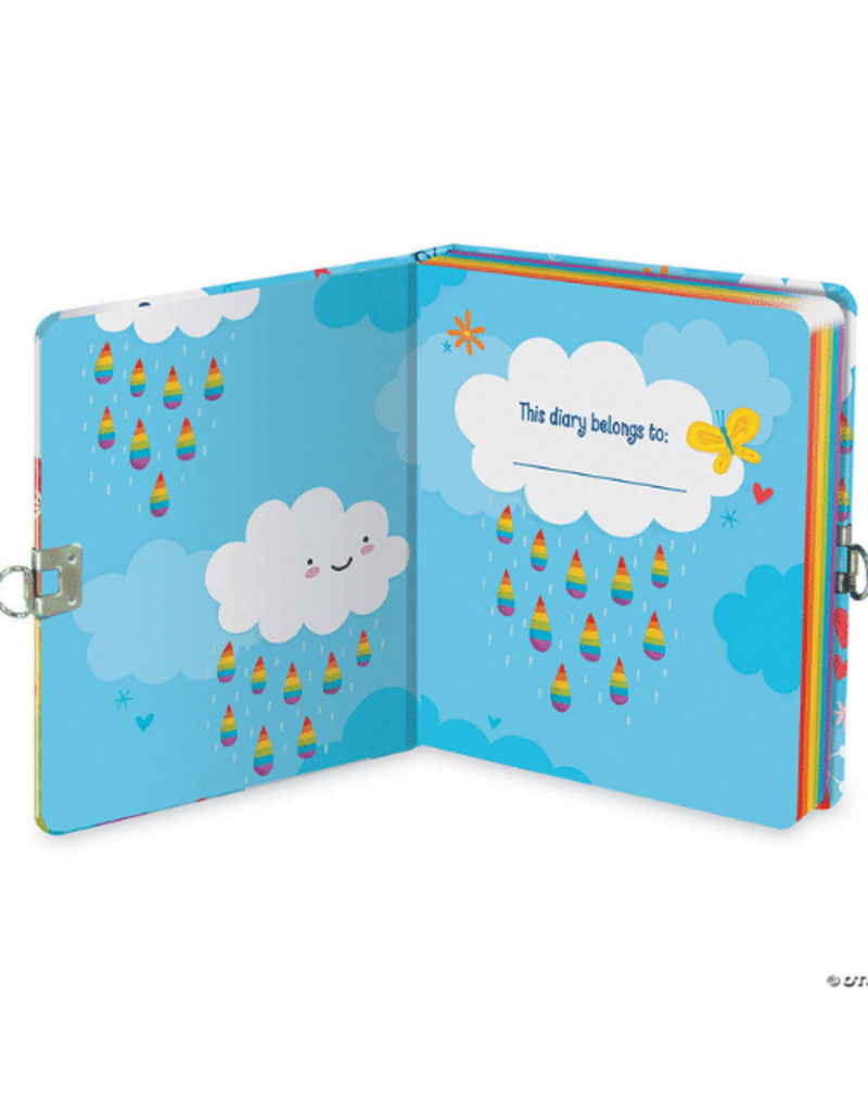 MINDWARE RAINBOW LOCK AND KEY DIARY