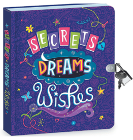 MINDWARE Secrets, Dreams, Wishes Diary: Glow In The Dark: