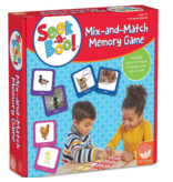 MINDWARE Seek-a-Boo Mix and Match Memory Game 3+