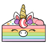 SQUISHABLE Mini Unicorn Cake