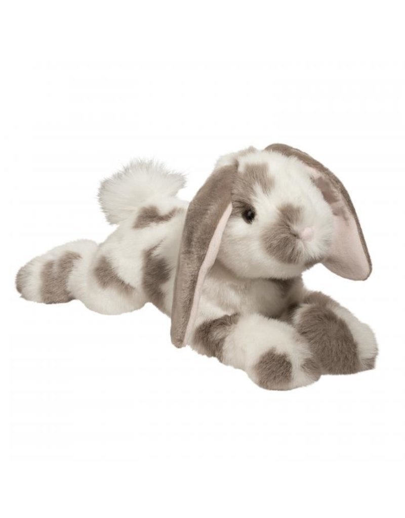DOUGLAS CUDDLE TOYS Ramsey Gray Spotted BUNNY*