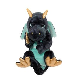 DOUGLAS CUDDLE TOYS NAVY DRAGON HANDFULS