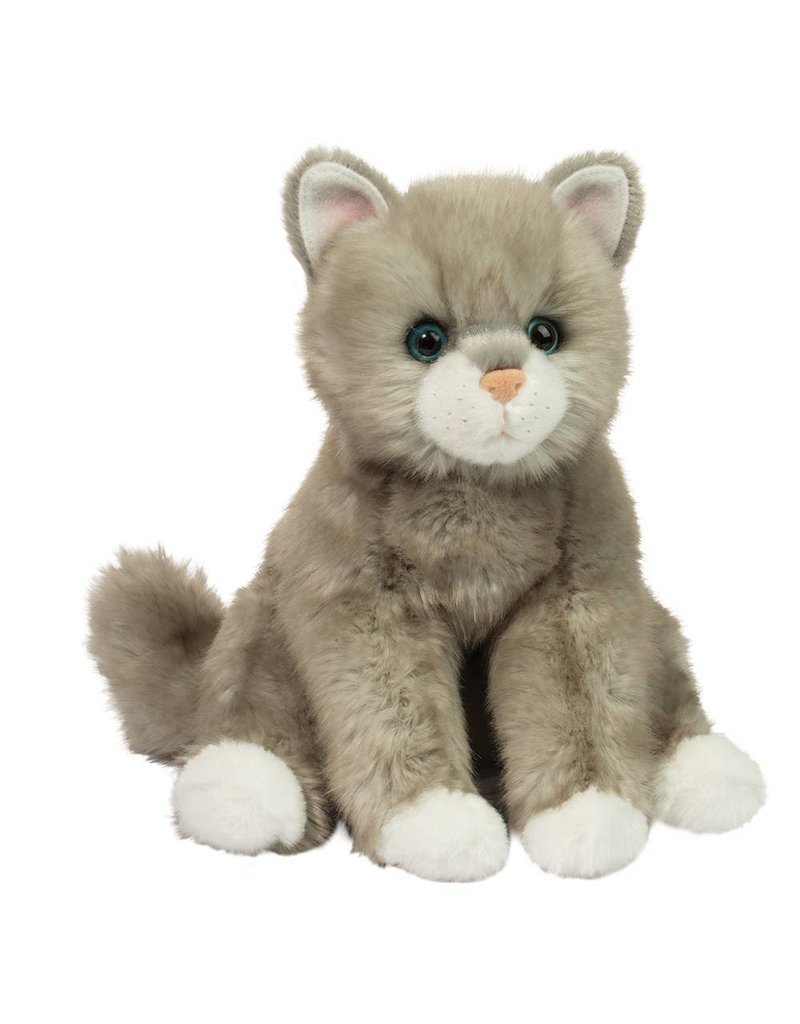 DOUGLAS CUDDLE TOYS RITA GRAY CAT